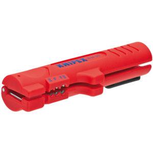 Инструмент для снятия оболочки с плоского и круглого кабеля